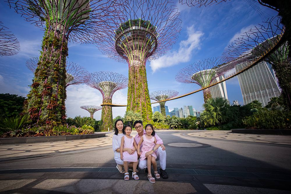 Family Photo Shoot - Garden By The Bay - Tomato Photo Studio ...
