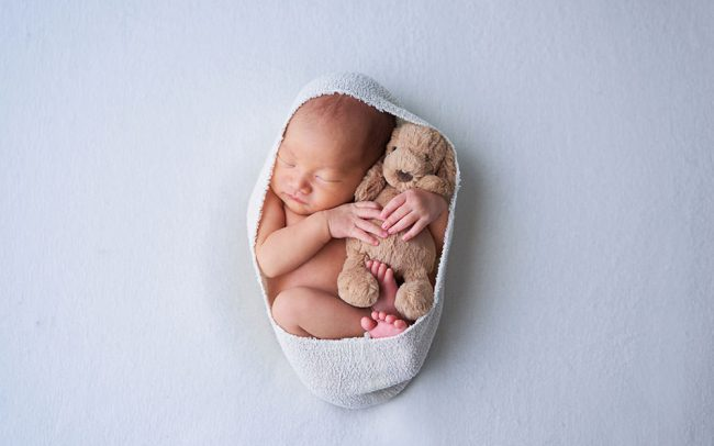 Studio Newborn Photoshoot