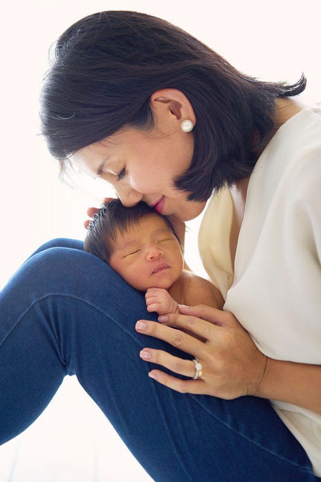 Studio Newborn Photoshoot