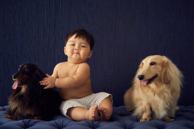 Pet and Child Photoshoot