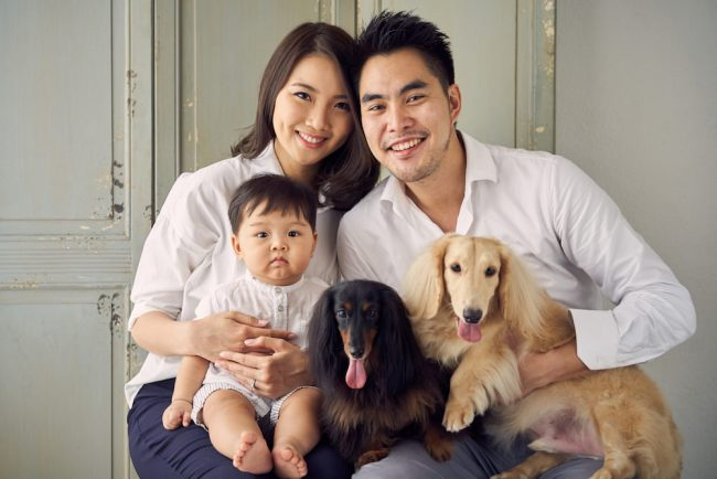Pet and Family Photoshoot