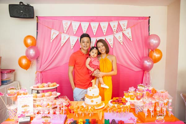 Birthday Party Tomato Photo Studio Singapore Newborn Baby
